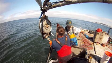 Destination Crab Boat Recovery by Lost Crab Fishing Gear Recovery In California