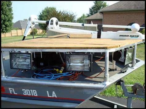 bowfishing decks for boats production bowfishing platform