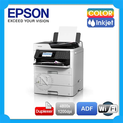 Epson WorkForce Pro WF-C579R Color Wi-Fi Business Printer