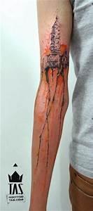 25+ Cool Dali Elephant Tattoos
