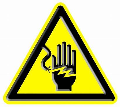 Electrical Hazard Sign Electrocution Safety Shock Electric
