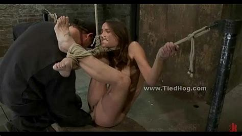 Tied Sex Slave Is Forced To Suck Cock In Rough Deepthroat