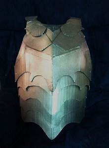 cardboard breastplate armor by sabrepanther on deviantart With cardboard armour template