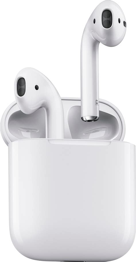 best buy apple airpods with charging 1st generation white mmef2am a
