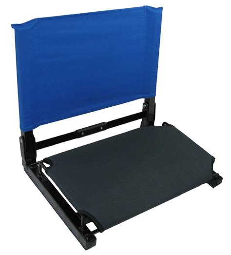 patented stadium chair bleacher seat ebay