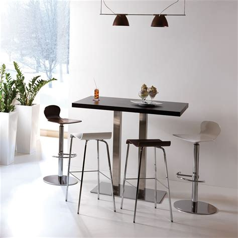 demi lune cuisine table de bar haute