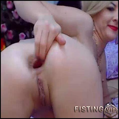 Big Ass Milf Fisted And Ruined Anal Gape Webcam Porn