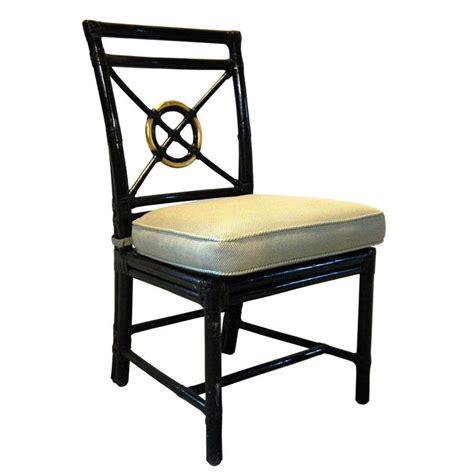 Black Dining Room Chairs Target by Set Of 8 American Mcguire Black Rattan Target Dining