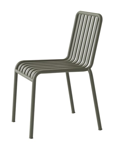 chaise bouroullec chaise palissade r e bouroullec vert olive hay