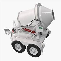 Towable Concrete Mixer Image