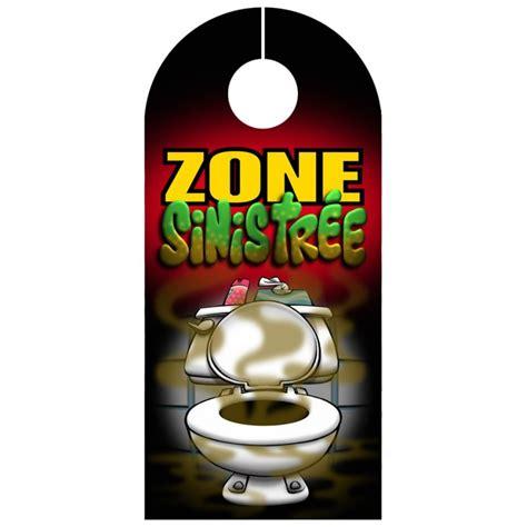affiche de porte zone sinistr 233 e pancarte pour toilettes ebay