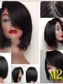African American Human Hair Wigs Black Women