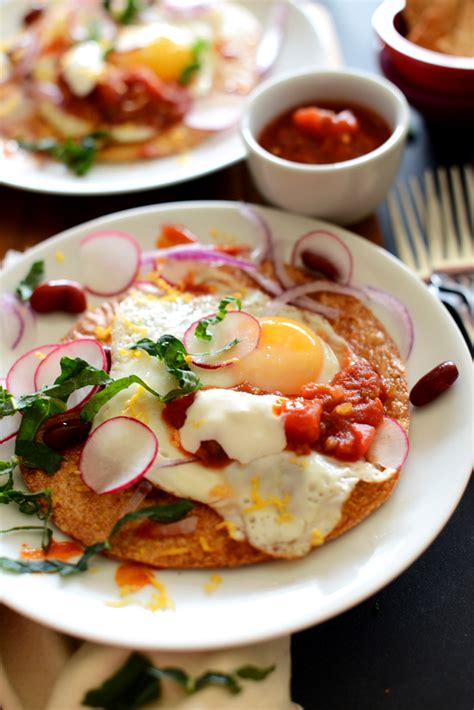 These light and super scrumptious crepes are pure magic. Gluten-Free Breakfast Tostadas   Minimalist Baker Recipes
