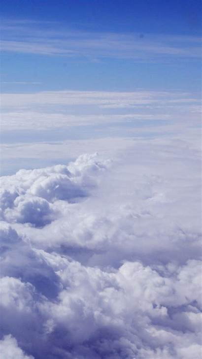 Iphone Clouds Sky Believe Nature Fly Wallpapers