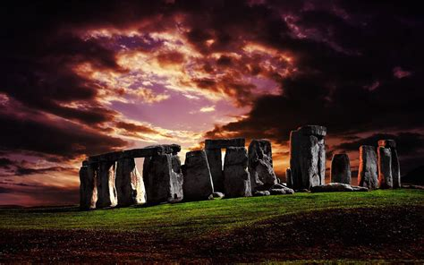 Stonehenge, Uk Highdefinition Photography Wallpaper 12