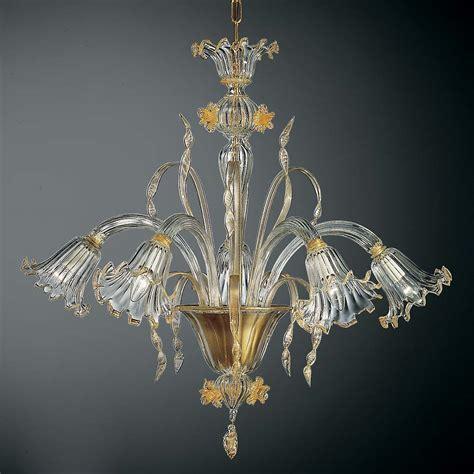 Glass Chandelier by Glass Blown Chandelier Venetian Glass Chandeliers