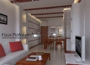 Decoration Faux Plafond : decoration faux plafond designplafond ~ Melissatoandfro.com Idées de Décoration