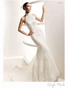 wedding dress necklines find your most flattering onewed With high neck lace wedding dress