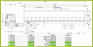 Semi Truck Weight Distribution Diagram
