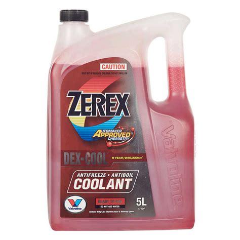 dex cool color zerex dex cool coolant 5l big w