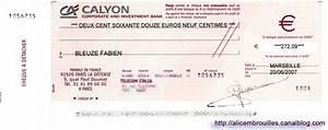Chèque De Banque La Poste : alice au pays des embrouilles ~ Medecine-chirurgie-esthetiques.com Avis de Voitures