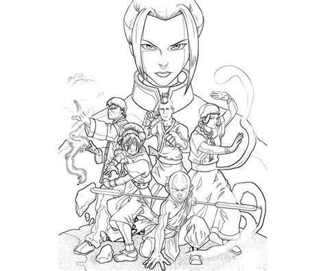 avatar   coloring pages coloring home