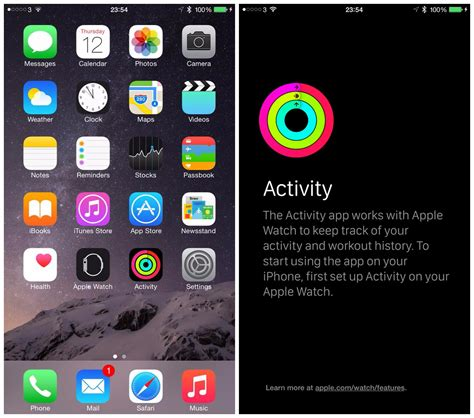 picture app for iphone ios 8 2 comes with a activity app for the apple