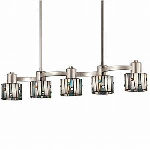 shop portfolio 32 in w 5 light brushed nickel kitchen With brushed nickel kitchen lighting