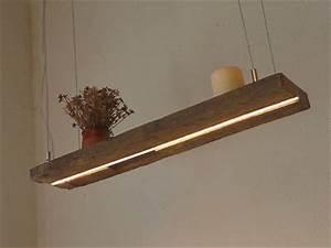 Esszimmertisch Lampe : led lampe h ngeleuchte holz antik balken leuchte holzlampe ~ Pilothousefishingboats.com Haus und Dekorationen