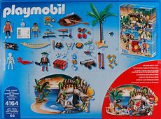 Playmobil Set 4164 Advent calendar pirates treasure