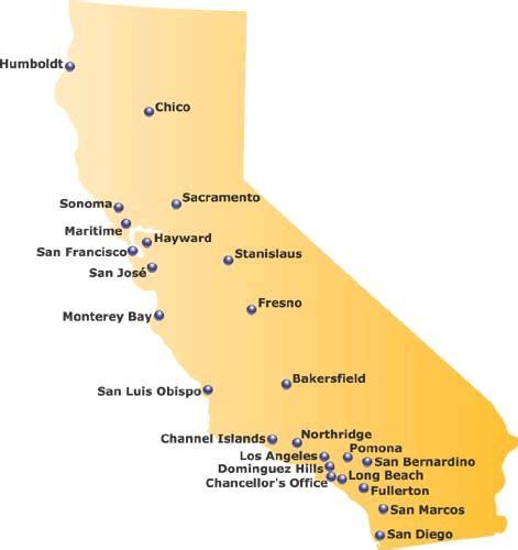 califronia state universities