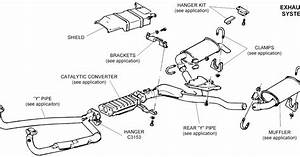 2002 Ford Escape Exhaust System Diagram