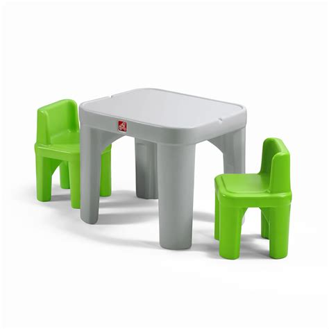 step2 table and chair set mighty my size table chairs set step2