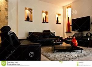 Deco Sejour Moderne : salle de s jour moderne image stock image du tage ~ Teatrodelosmanantiales.com Idées de Décoration
