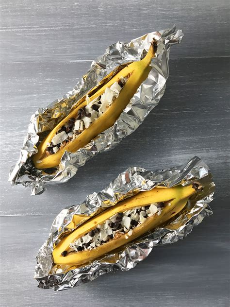 Banana Boat You by Baked Banana Boat Recipe Start Organic