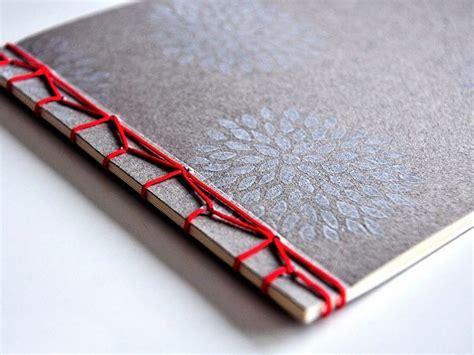 fotoalbum selber binden diy anleitung notizbuch mit japanischer bindung selber machen via dawanda clevere
