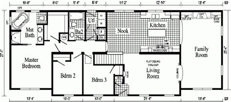 Ranch Style Homes Floor Plans by Luxury Floor Plans Of Ranch Style Homes New Home Plans