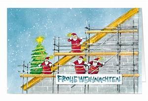 Bilder Hausbau Comic : weihnachtskarte branchenkarte bauunternehmen ger stbau hausbau frohe weihnachten weihnachten ~ Markanthonyermac.com Haus und Dekorationen