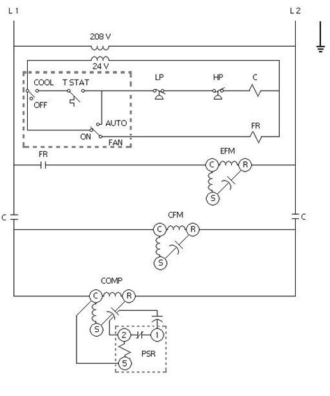 Simple Hvac Schematic Diagram by A Factory Air Conditioning Schematic For Your Unit Can