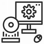 Software Icon Computer System Hardware Process Execution
