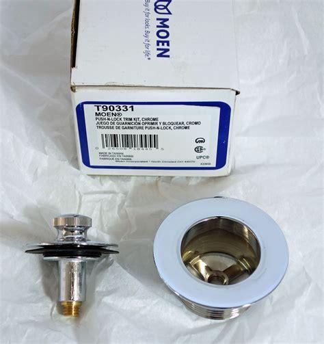 moen  tub drain kit installation instructions moen