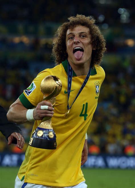 david luiz   brazil  spain final zimbio