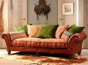 canape anglais 3 places eastwood cuir et tissus With tapis kilim avec canapé cuir anglais chesterfield