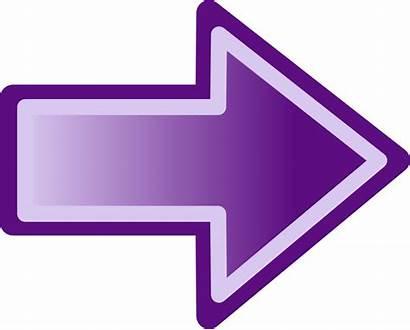 Arrow Purple Shape Clip Onlinelabels Svg