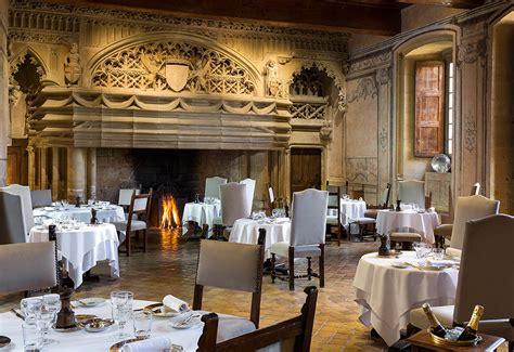 cuisine de chateau gourmet restaurant in the of the château