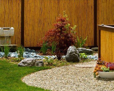 Japanischer Garten Zaun by Garten Japanischer Stil Anlegen Pflanzen Rasen Kieselweg