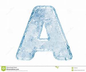 Ice Font Stock Images - Image: 7636534