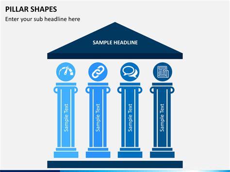 level house plans pillar shapes powerpoint sketchbubble