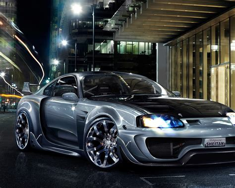 Silver sports Car HD Wallpaper - 9to5 Car Wallpapers