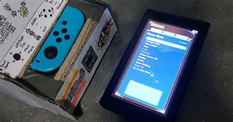 Someone Turned a Switch Into This Tiny, Cardboard Arcade
